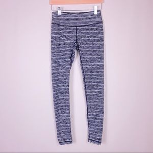 Zella Stripped heather grey atheisure leggings